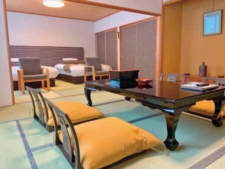 【ツインベット付■広めの和室16畳/例】