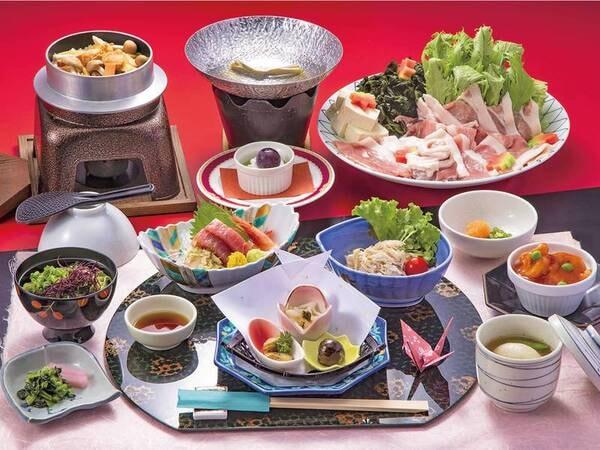 【津軽プラン/例】お得に青森の美味を堪能!あおもり食命人-あおもりしょくめいじん。新鮮で安全・安心な旬の件産食材を活かした健康的な食事(いのちを支える食)をつくる人」という意味の造語です。