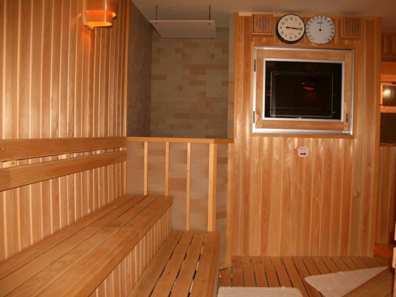 *大浴場しらかみの湯/大浴場はサウナルーム付き。観光やお仕事のお疲れを汗をかいてリフレッシュ!