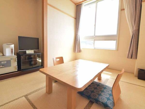 *新館和室6畳一例/コンパクトな造りで一人旅やビジネス利用にお勧め。