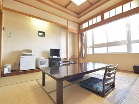 *新館和室8畳一例/当館スタンダードタイプのお部屋。シンプルでくつろげる和室です。