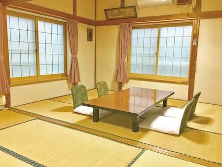 【和室/一例】小グループ、ご家族様に最適。2間続きの広めのお部屋でお寛ぎ下さい