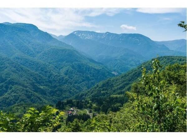 壮大な自然を感じながら、美味しい空気を吸ってリラックス。