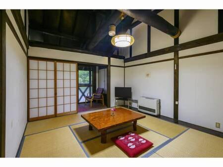落ち着く和室。全部屋より山川の景色がご覧頂けます。/一例