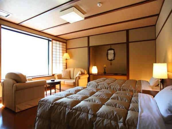 【禁煙】昭和館バリアフリー洋室ツイン/一例