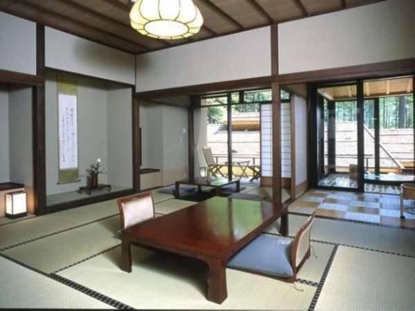 【禁煙】介山荘半露天風呂付き客室 和室/一例