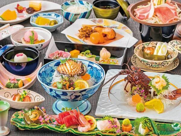 料理長厳選会席の夕食/例