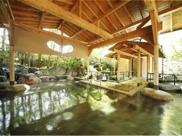 【山代温泉 瑠璃光】加賀の食材を使った料理や多彩な温泉、無料の太鼓ショーで山代温泉を満喫