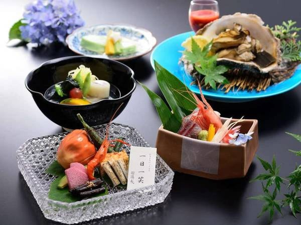 季節の会席料理/一例