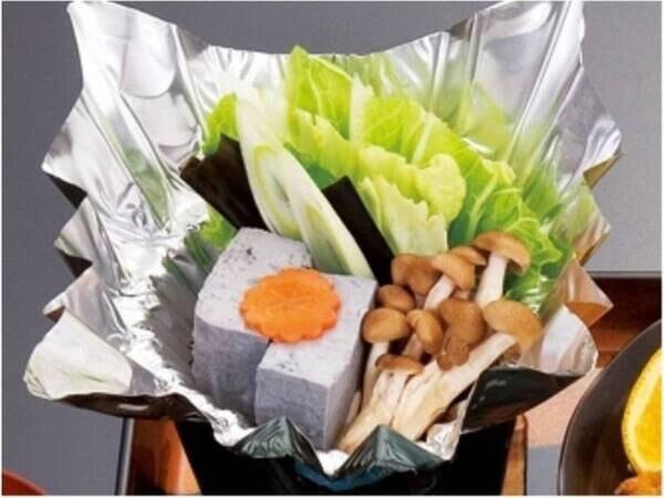 【湯豆腐/一例】青森県産の黒豆を100%使用しています
