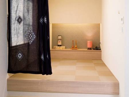 特別室(禁煙)和ベッド例