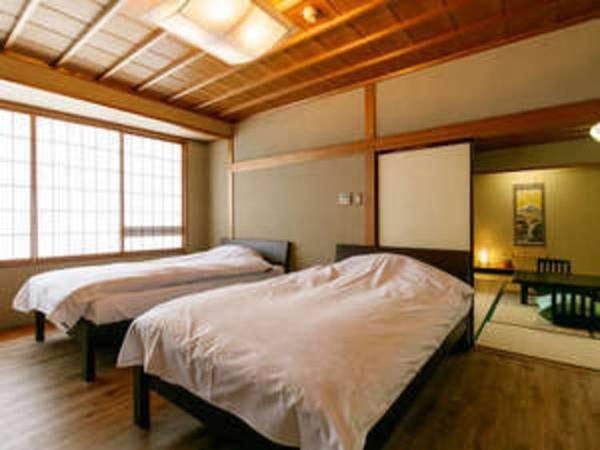 【萩の棟Aタイプ】和室ツインベッド付 /例