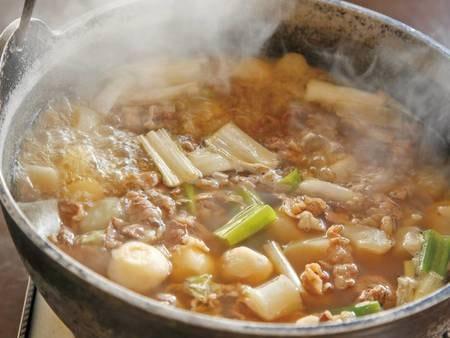 【朝食/例】山形の郷土料理の芋煮!山形に来たら一度は召し上がって下さい