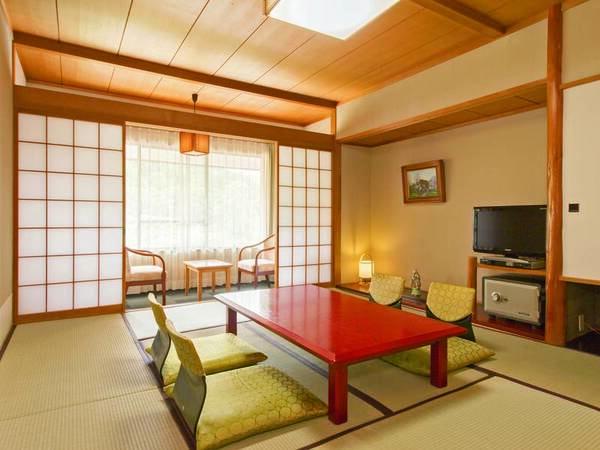 [客室/例] ゆったり10畳の和室へご案内、ちょっと贅沢なご旅行におすすめ