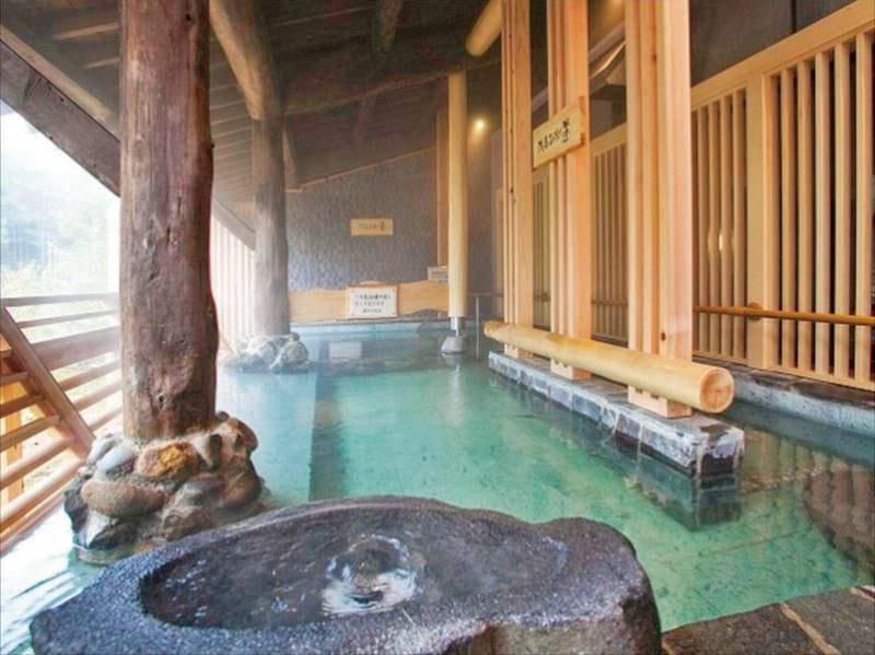 【大浴場】強塩泉をたのしむ