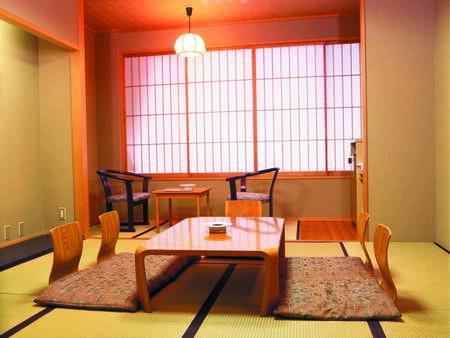 [8畳和室/例] 本館にあり、山側に位置する客室