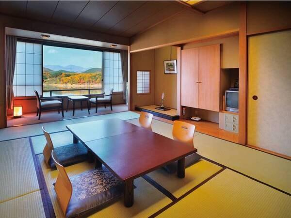 レイクビュー 10畳和室/例。落ち着いた雰囲気の和室