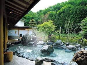 【浴場/喜久の湯】庭園露天風呂