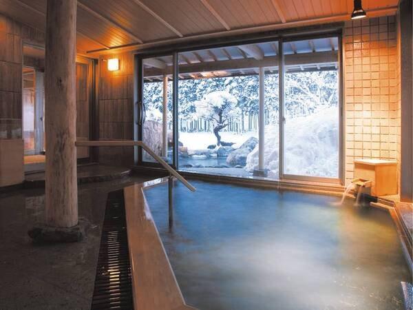 【浴場/喜久の湯】内湯