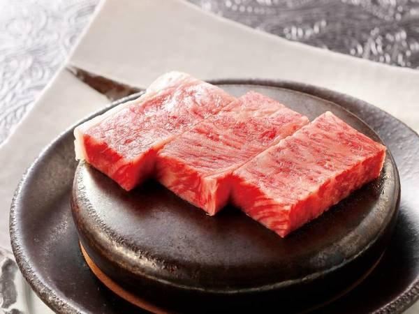 【選べる標準会席/例】前沢牛ステーキ選択時一例