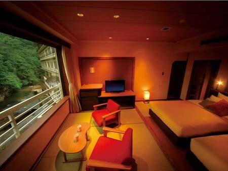 記念日等に人気のスーペリア和洋室(和-nagomi-)※禁煙室/写真一例