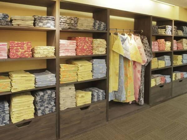 ご宿泊の方は無料でお好きな色浴衣をお選びいただけます