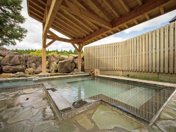 【大浴場(こまくさの湯)】ついつい長居してしまう、体に優しい単純温泉