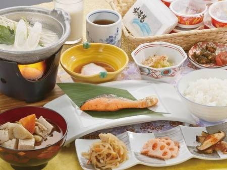 【朝食/例】手作りの和朝食