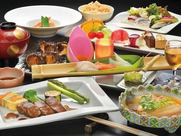 【夕食/例】田老・宮古・三陸等の食材を毎日仕入れその日一番おいしいものをご用意