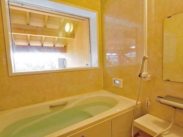 【離れ・三郎の庵】16帖/内風呂はユニットバスとなっております。 ※温泉ではありません