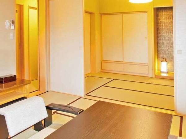 【[本館・たろうの庵]8帖+6帖/例】露天風呂付きモダン和室