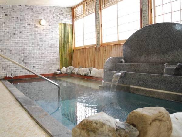 【浴場】湯冷めしにくく、体に負担のないやわらかいお湯と評判のお湯
