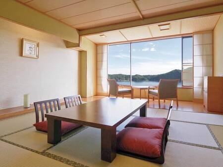 [海側和室/例] バス・洗浄トイレ付10畳和室、自然が織り成す美しいコントラストを愉しむ