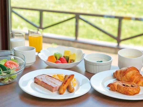 【朝食/例】八幡平のめぐみをいただく