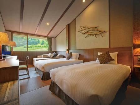 【マウンテンルーム/例】30平米の洋室。広々とした空間で贅沢なひと時を