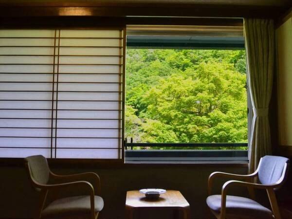 和洋室からの眺望例