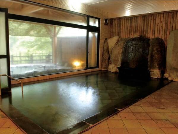【浴場/長寿の湯】肌当たりが柔らかいお湯