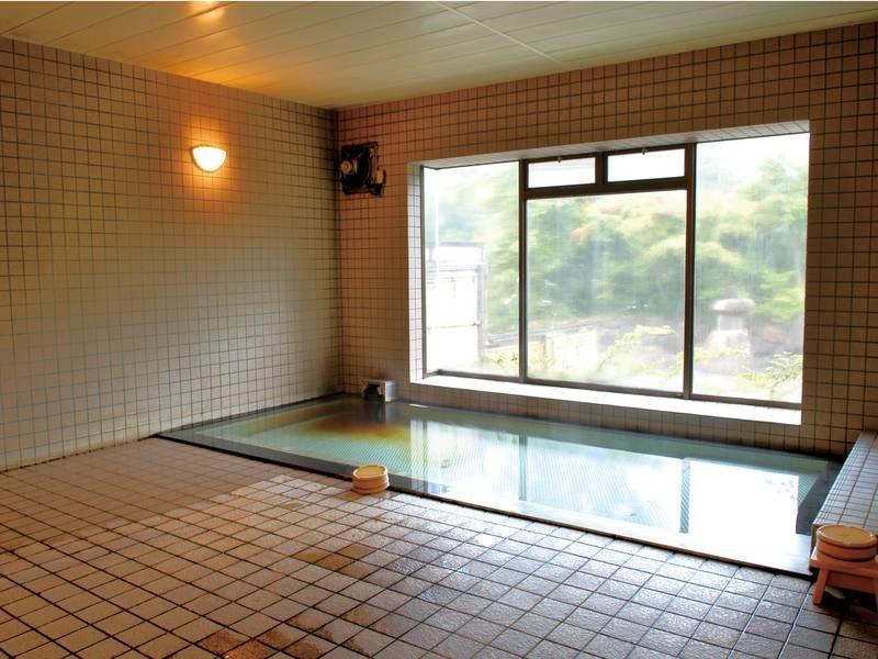 【浴場/美人の湯】単純温泉でさっぱりと