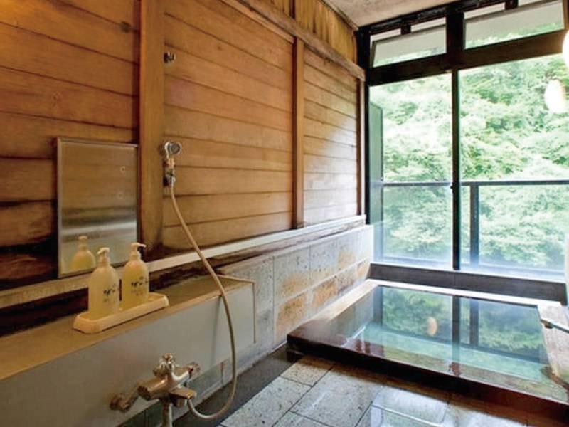 【貸切風呂】プライベートな空間でゆったりと