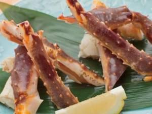 【焼きタラバ蟹/例】追加オプションでタラバ蟹を