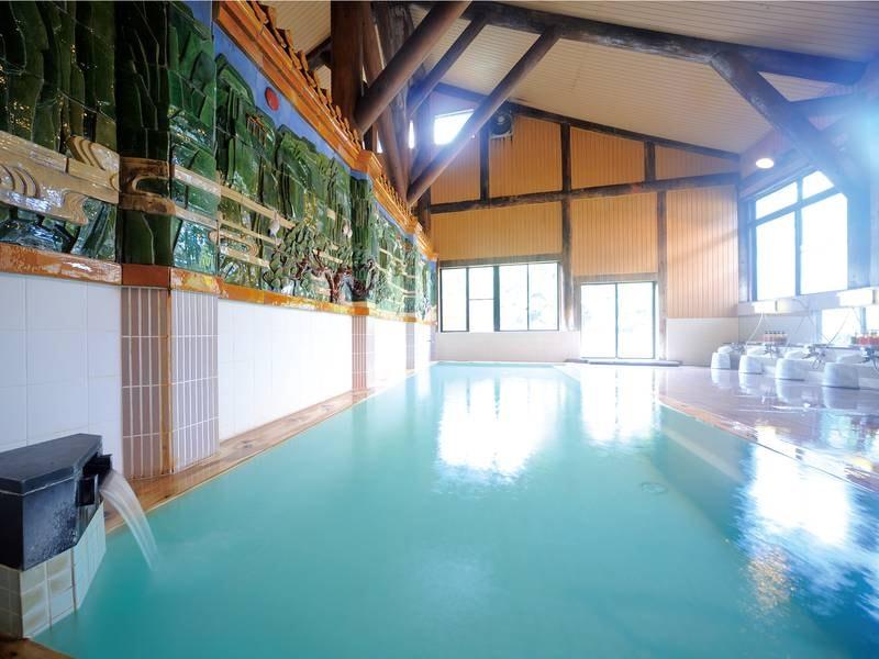 【とよさわ乃湯大浴場】pH9.3のしっとりした湯を愉しむ