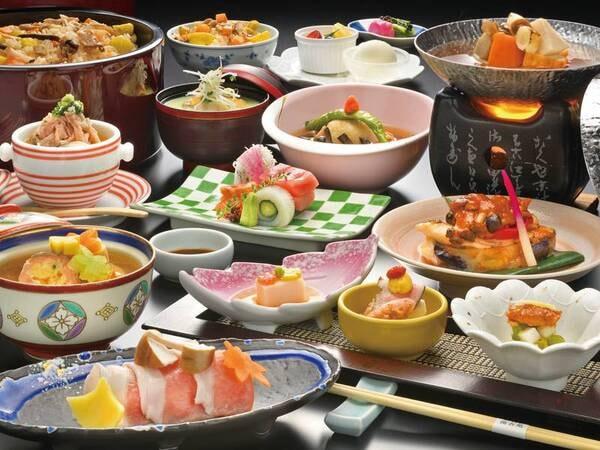 【料理長特撰会席/例】当館一番人気!旬の食材を生かした料理長自慢の標準会席