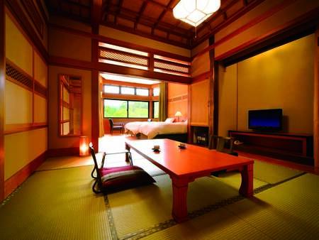 [客室/例] 8畳和室+ツインベッドの当館人気の客室タイプ