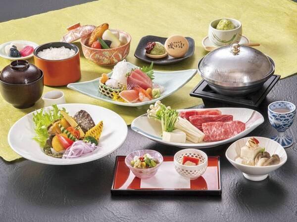 【夕食/例】逸品会席・葵/9・10・11月の料理イメージ
