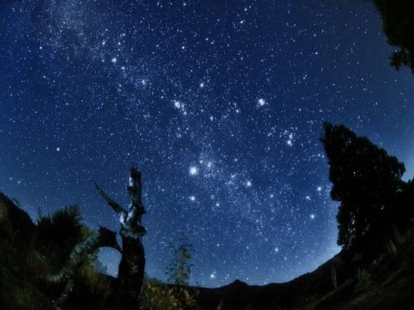 晩秋の星空/イメージ
