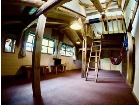 ロフト付き屋根裏部屋16畳 禁煙/一例