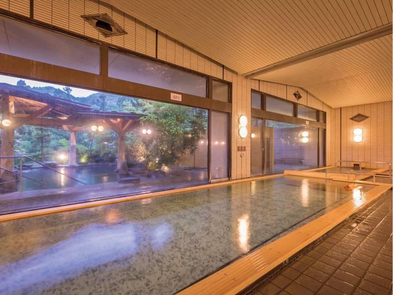 【大浴場(ホテル紅葉館)】3館を湯めぐり♪サウナ完備の大浴場