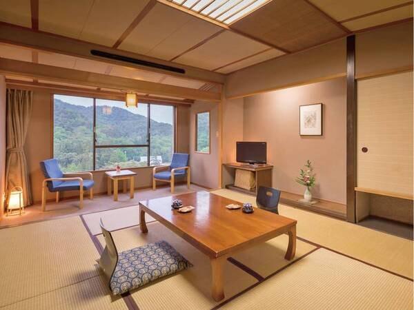 [客室/例] 広縁付きのゆったり10畳の和室、ちょっと贅沢な旅におすすめ