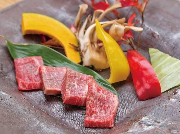 【竹】岩手南牛&季節のお料理/例