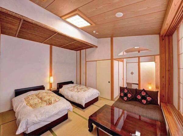 別邸/ツインベッド2間/洗浄機能トイレ付/例